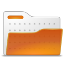 Folder, open Chocolate icon