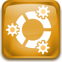 kubuntu, here, start Goldenrod icon