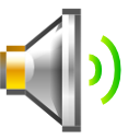 medium, Audio, volume DimGray icon