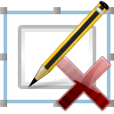 Pen, Signature, delete Icon