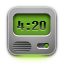 Clock DarkGray icon