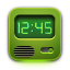 Clock OliveDrab icon