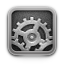 settings DarkGray icon