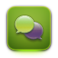 Text OliveDrab icon