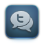 Tweetie DarkSlateGray icon