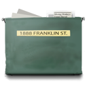 1888, franklin, street DarkSlateGray icon