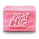 Club, fight, soap PaleVioletRed icon