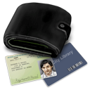 Credit cards, Money, wallet DarkSlateGray icon