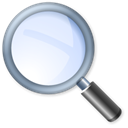 magnifying glass, zoom, Find, search Black icon
