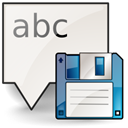 save, document, As Linen icon