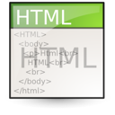 mime, html, Text Linen icon