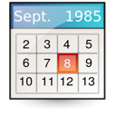 Vcalendar, mime, Text Linen icon