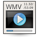 Wmv, Ms, video Linen icon