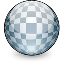 texture, mapping, 3d, spherical Black icon