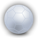Ball, soccer, plain, Football Black icon