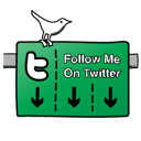 sign, twitter SeaGreen icon