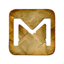 Logo, gmail Black icon