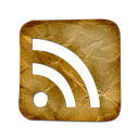 Rss, cube Black icon