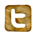 square, twitter, Logo Black icon