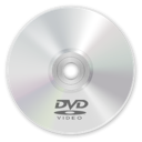 Dvd, disc Gainsboro icon