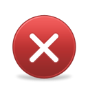 Error, Close, remove, delete, Bad, cross Brown icon