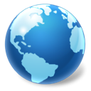 earth, world, globe, Browser SteelBlue icon
