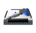 Administrative, tools Black icon