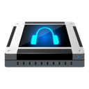 Audio, Cd Black icon