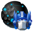 network, my, transformers, places, Optimus DarkSlateGray icon