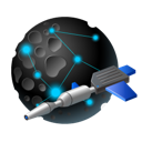 Service, space Black icon