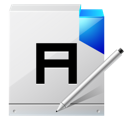 document, A, write WhiteSmoke icon