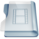 Folder, Movies Gainsboro icon