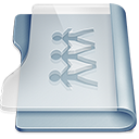 Folder, sharepoint Gainsboro icon