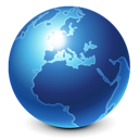 skull, Blue, Browser, world, internet, globe, earth, global, international, planet SteelBlue icon