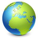 planet, world, Browser, earth, global, globe, international, internet YellowGreen icon