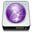 network, drive DimGray icon