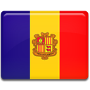 flag, Andorra Red icon