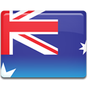 Australia, flag DarkSlateBlue icon