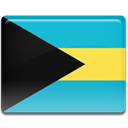 flag, Bahamas DarkTurquoise icon