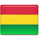 flag, Bolivia Gold icon