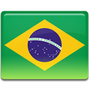 Brazil chest flag SeaGreen icon