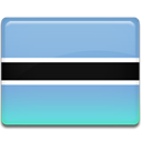 Botswana, flag SkyBlue icon