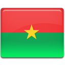 flag, Burkina, faso Tomato icon