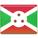 Burundi, flag LimeGreen icon