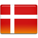 Danish, Denmark, flag Firebrick icon