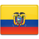 Ecuador, flag Gold icon