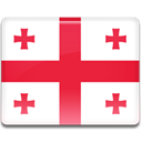flag, Georgia Crimson icon
