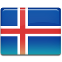 flag, iceland DarkSlateBlue icon