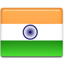 India, indian, flag SandyBrown icon