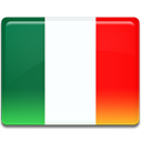 flag, it, italian, italy, Italia Red icon